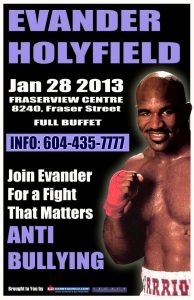 Anti Bullying with Evander Holyfield